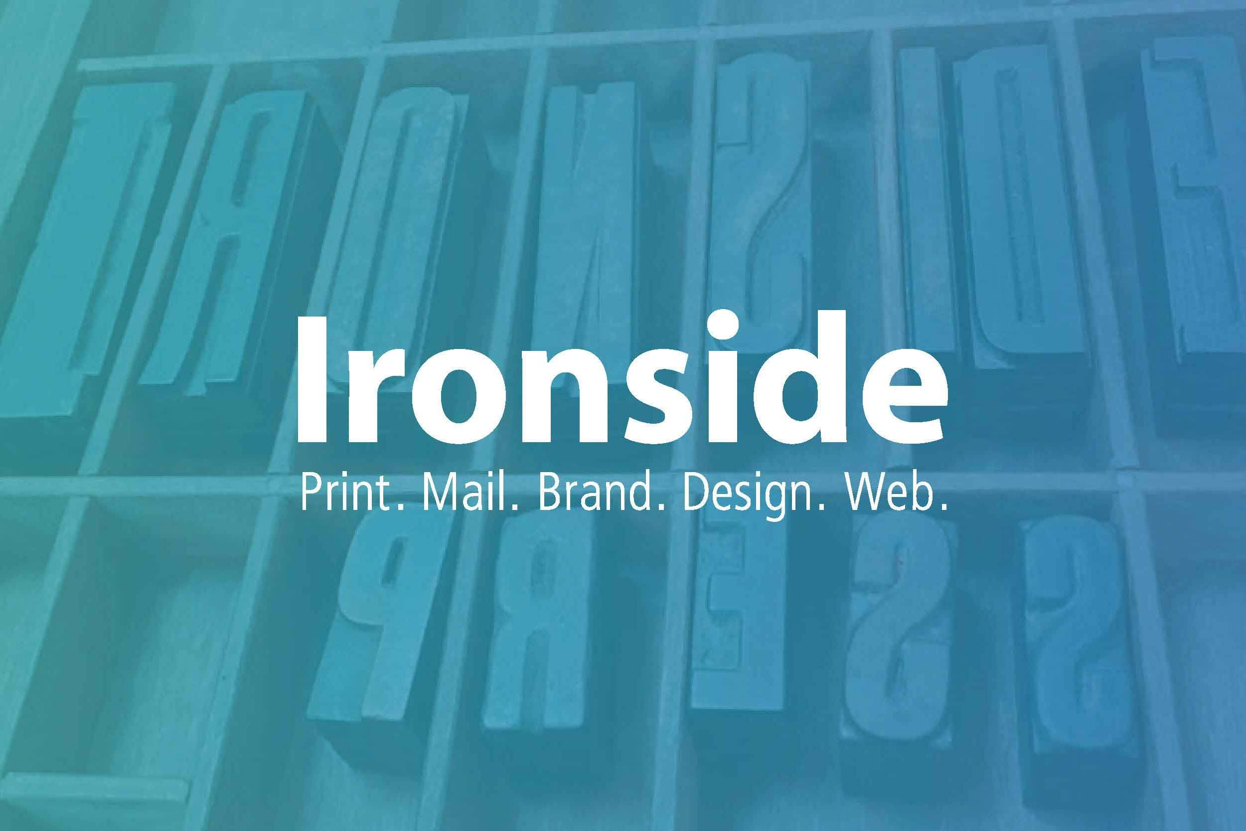 Ironside Press Print Mail Brand Design Web FB-Image - our work