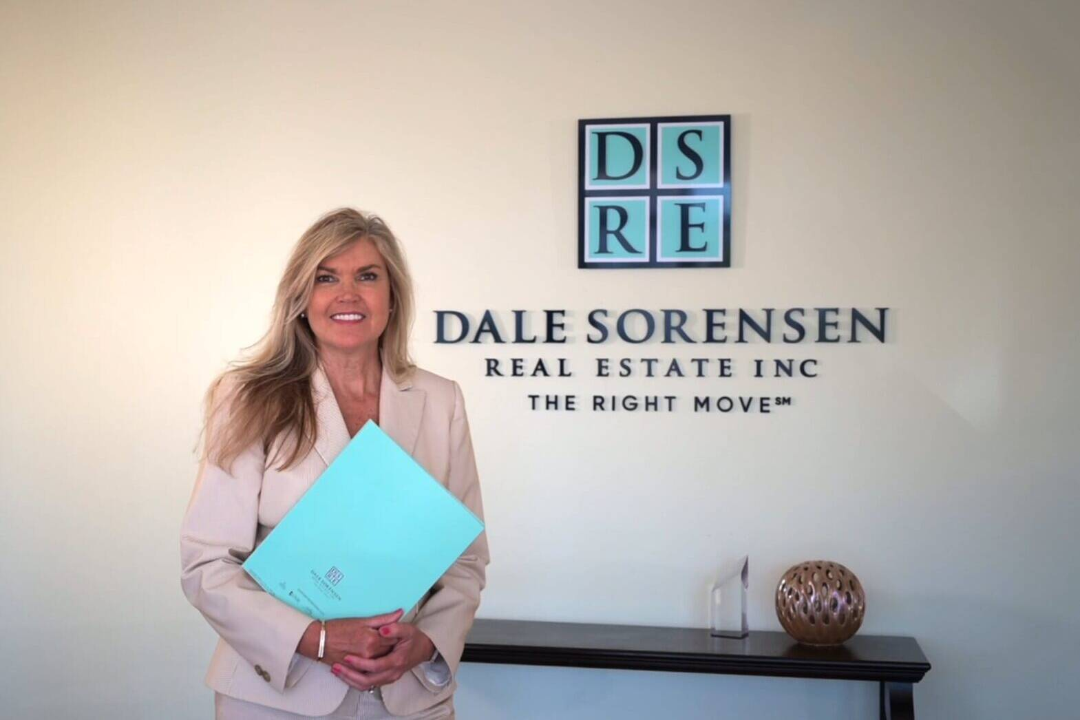 We produced a brand story video Dale Sorensen Real Estate agent Cindy Forstall
