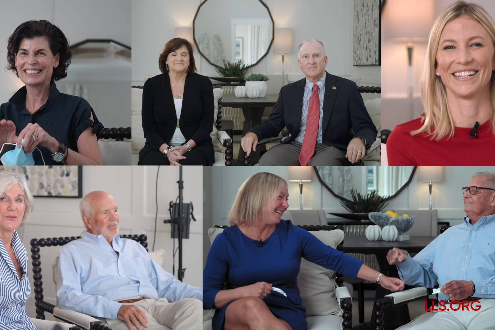 Our video services created video which featured six stories for LLS in Vero Beach.
